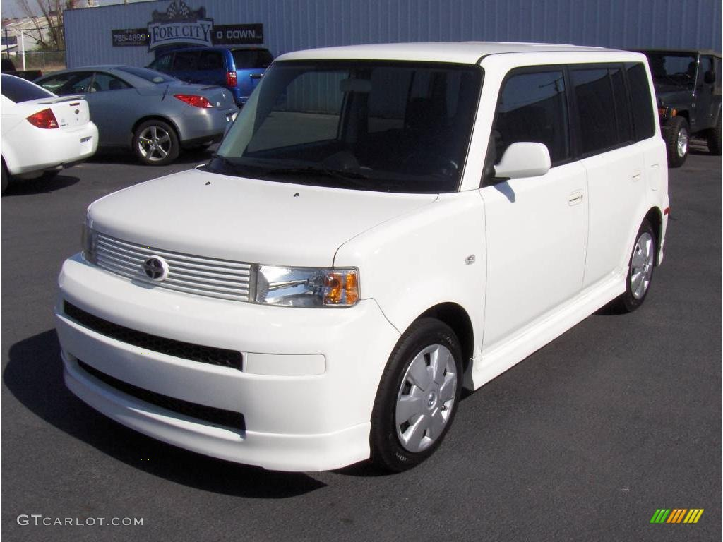2006 polar white scion xb 5430968 car. Black Bedroom Furniture Sets. Home Design Ideas
