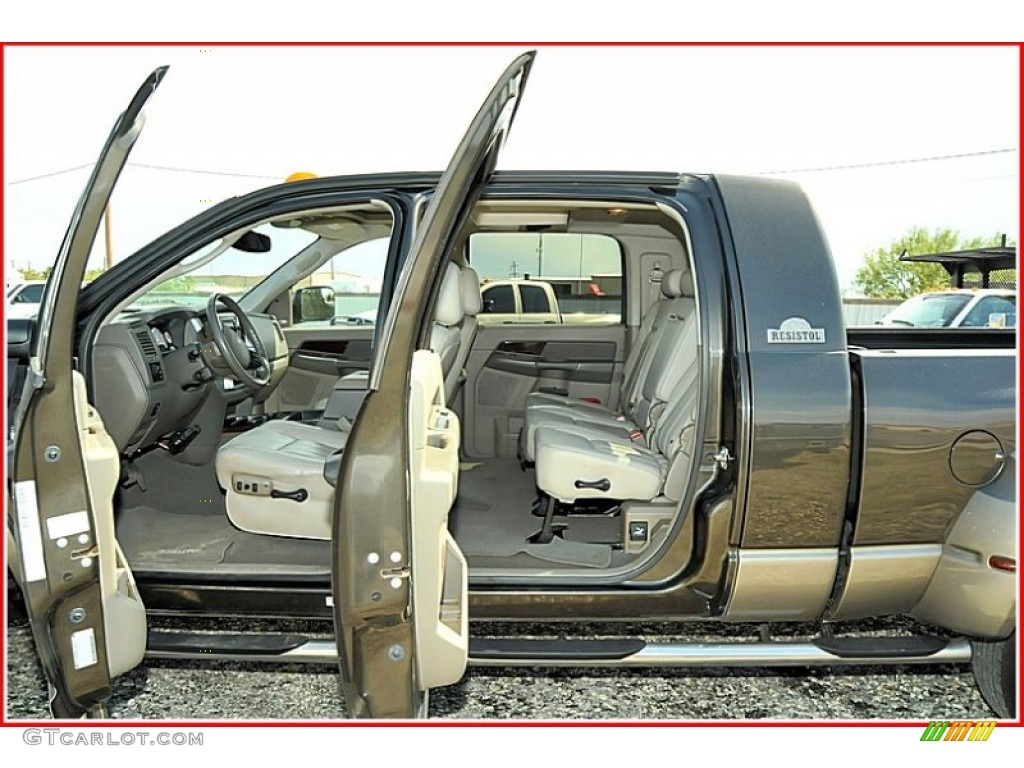 Ram 2017 Laramie >> 2009 Dodge Ram 3500 Laramie Mega Cab 4x4 Dually interior Photo #54507221 | GTCarLot.com