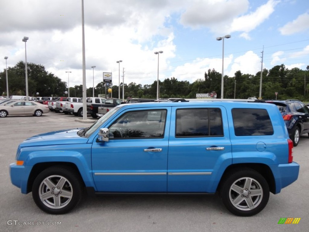 Surf Blue Pearl 2008 Jeep Patriot Limited Exterior Photo #54509624
