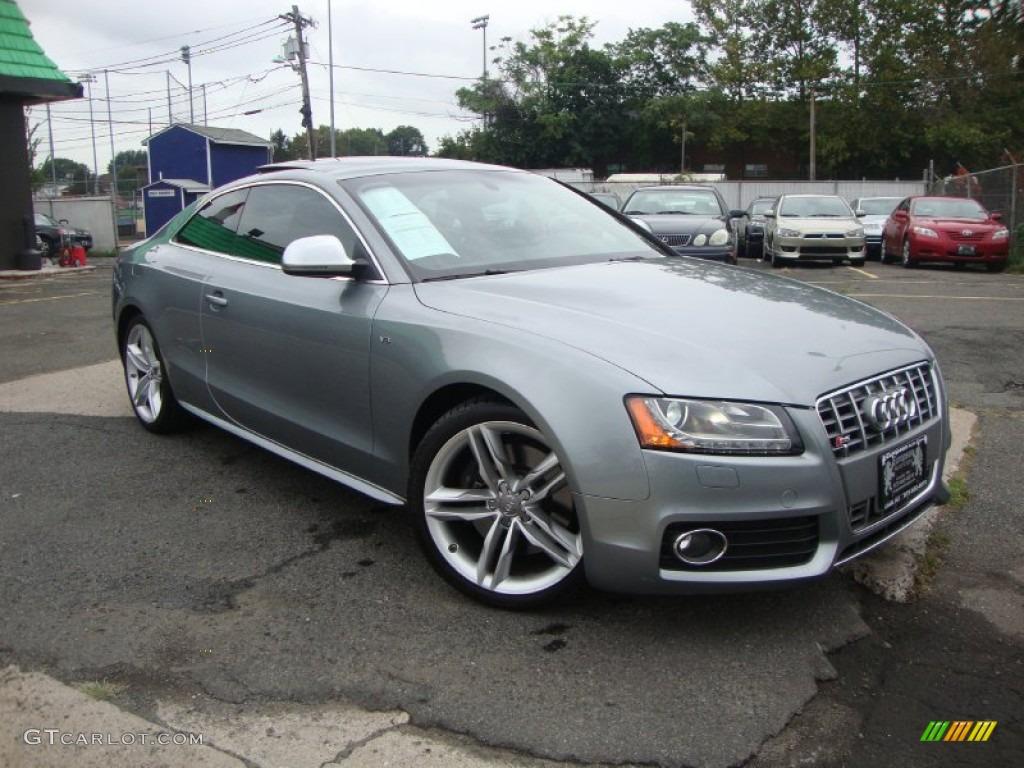 Quartz Grey Metallic 2009 Audi S5 4 2 Quattro Exterior