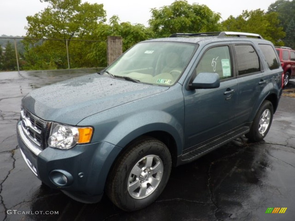steel blue metallic 2012 ford escape limited v6 4wd exterior photo. Cars Review. Best American Auto & Cars Review