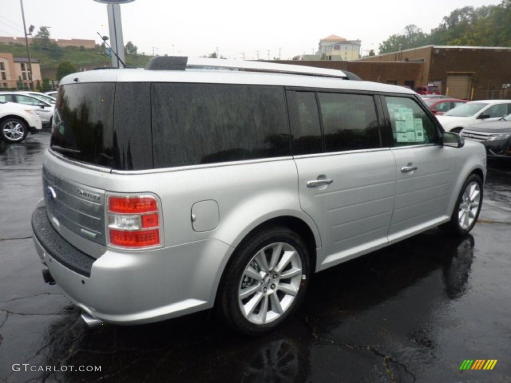 ingot silver metallic 2012 ford flex limited ecoboost awd. Black Bedroom Furniture Sets. Home Design Ideas