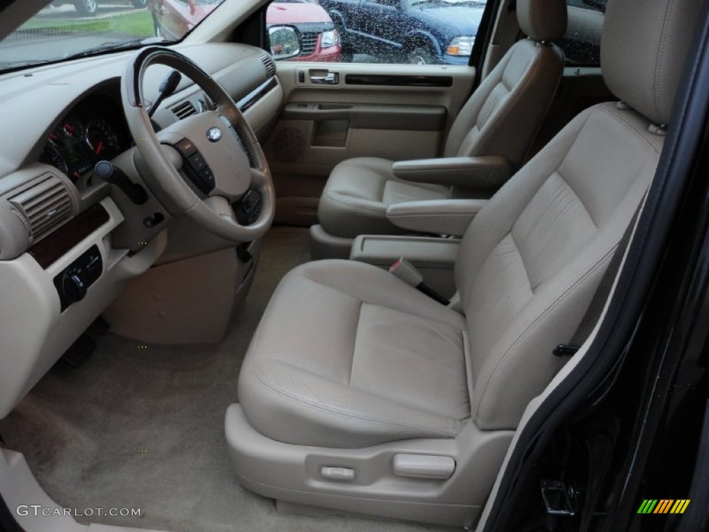 Pebble Beige Interior 2006 Ford Freestar Limited Photo 54518582
