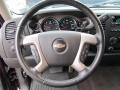 Ebony Steering Wheel Photo for 2008 Chevrolet Silverado 1500 #54520254