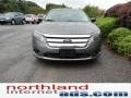 2011 Sterling Grey Metallic Ford Fusion SEL V6  photo #3