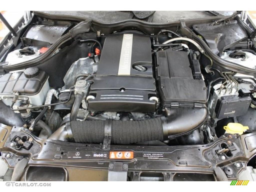 2005 mercedes benz c 230 kompressor coupe 1 8l for Mercedes benz kompressor engine