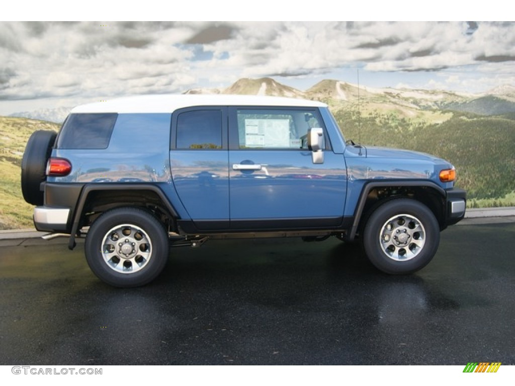 cavalry blue 2012 toyota fj cruiser 4wd exterior photo 54529781. Black Bedroom Furniture Sets. Home Design Ideas