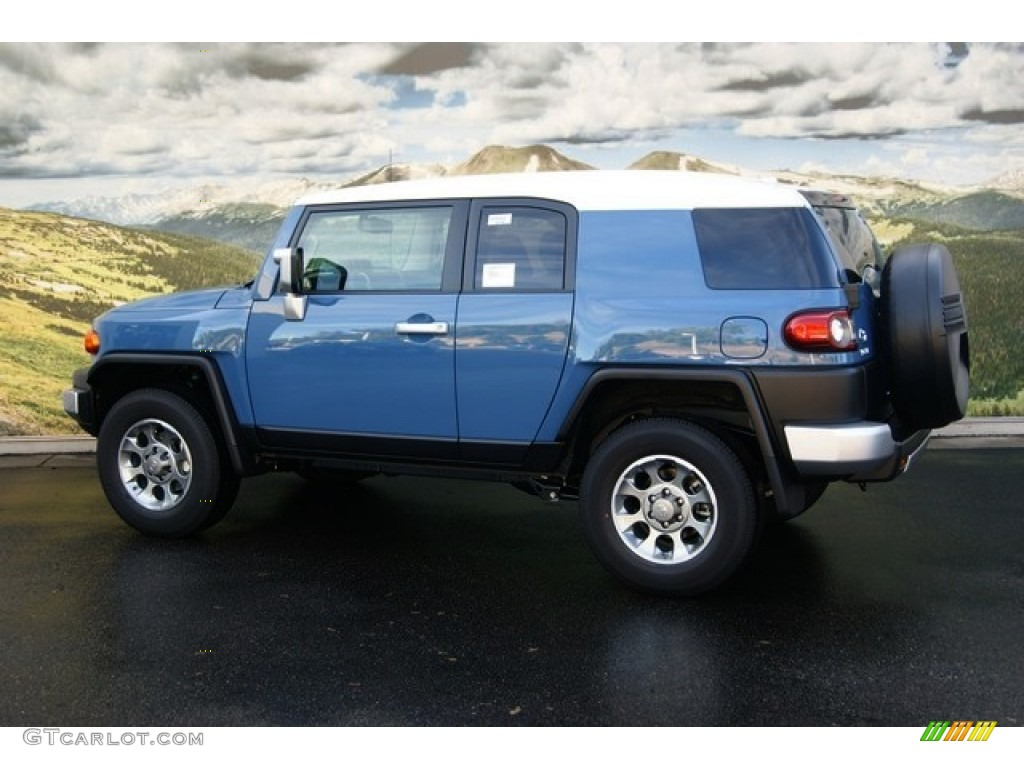 Fj Cruiser Sticker >> Cavalry Blue 2012 Toyota FJ Cruiser 4WD Exterior Photo #54529790 | GTCarLot.com
