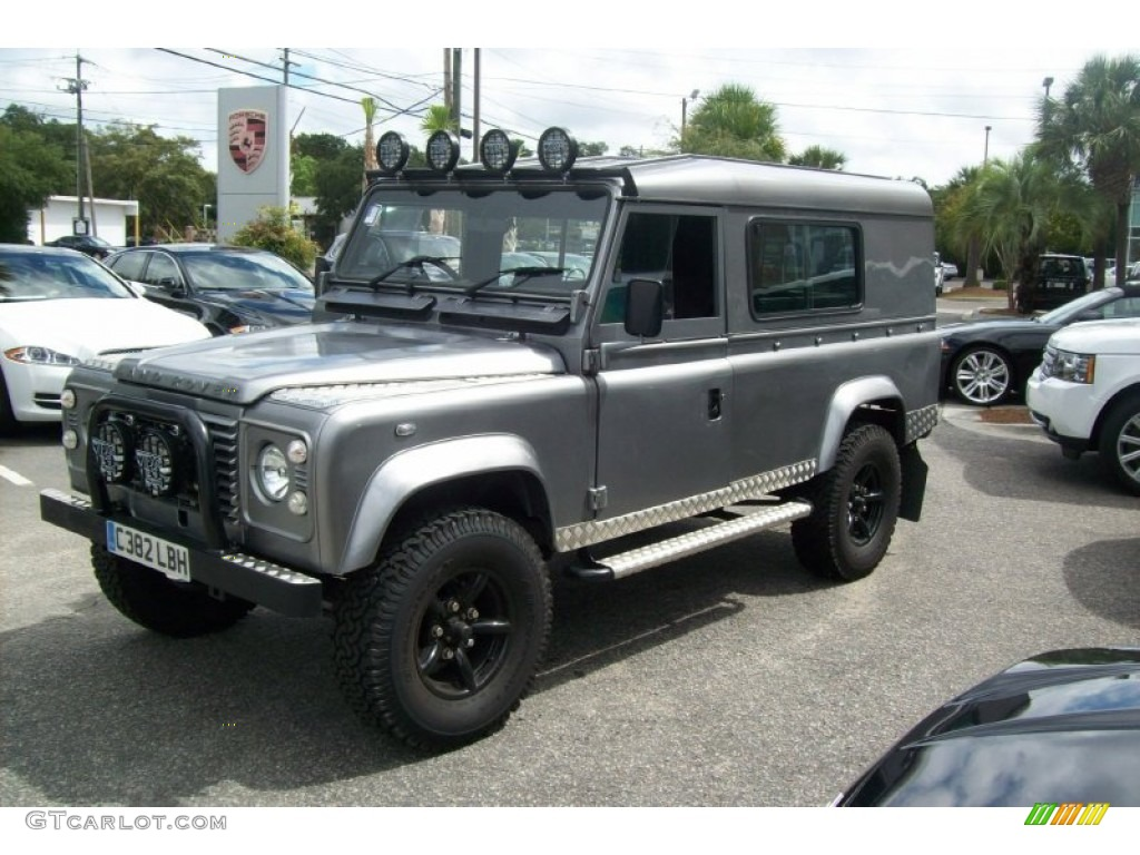 1985 Dark Silver Land Rover Defender 110 Hardtop Right