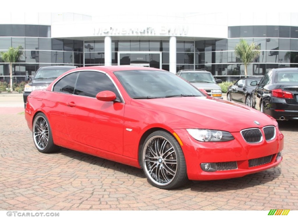 2007 Crimson Red Bmw 3 Series 335i Convertible 54538866 Car Color Galleries