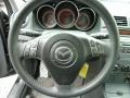 MAZDASPEED Gray/Black 2008 Mazda MAZDA3 MAZDASPEED Grand Touring Steering Wheel