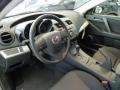 2012 MAZDA3 i Sport 4 Door Black Interior