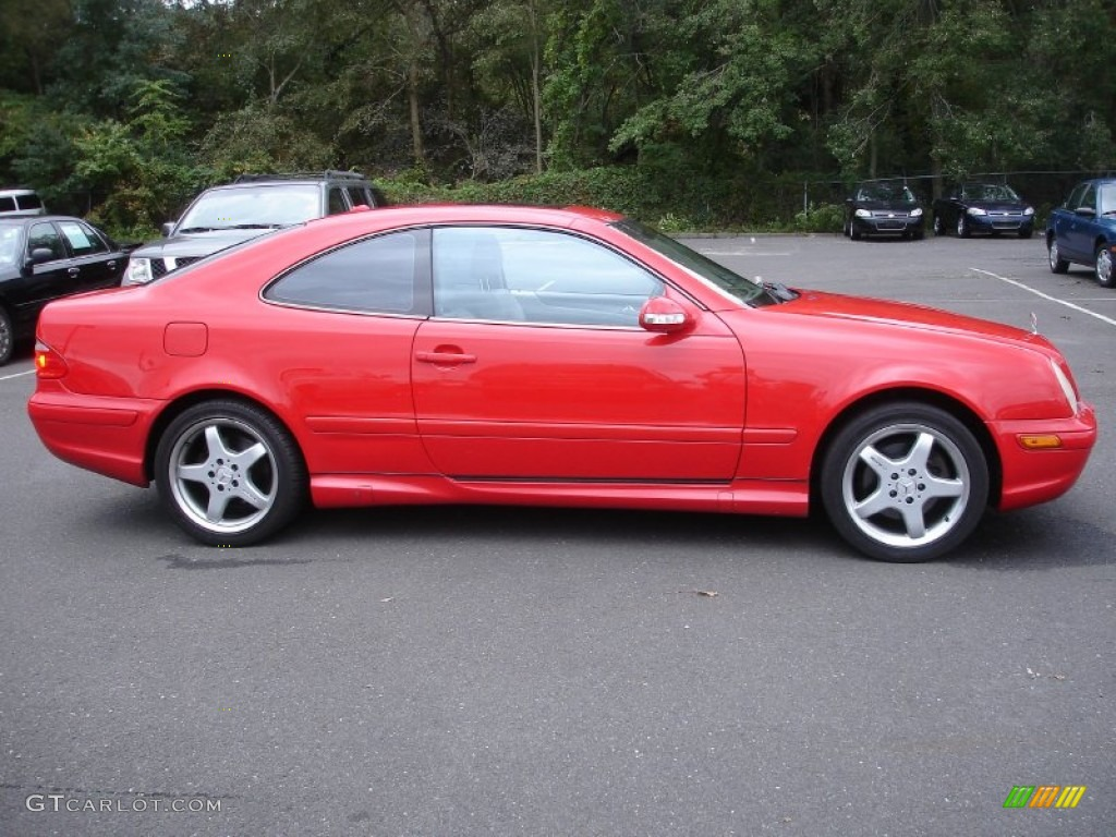 Magma red 2002 mercedes benz clk 430 coupe exterior photo for Mercedes benz clk 2002