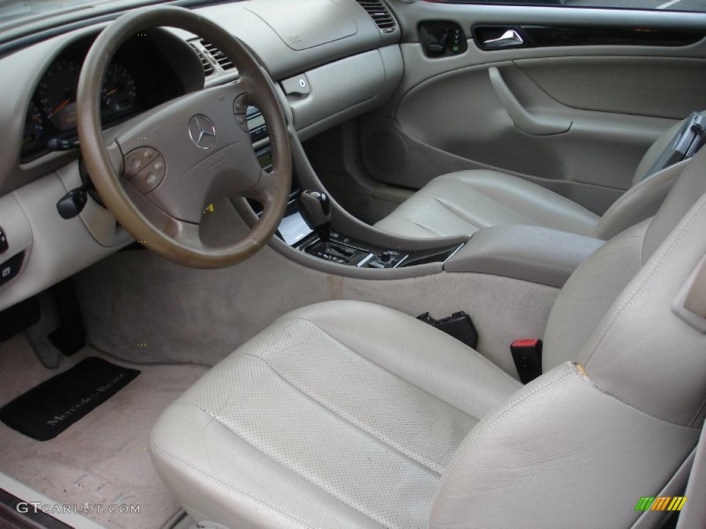 Oyster Interior 2002 Mercedes Benz Clk 430 Coupe Photo