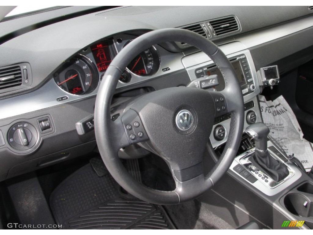 Black Interior 2008 Volkswagen Passat Vr6 4motion Sedan Photo 54569007