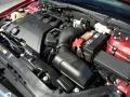 2008 Vivid Red Metallic Lincoln MKZ Sedan  photo #27