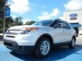 2012 Ingot Silver Metallic Ford Explorer XLT  photo #1