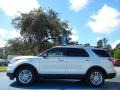 2012 Ingot Silver Metallic Ford Explorer XLT  photo #2