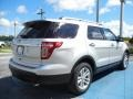 2012 Ingot Silver Metallic Ford Explorer XLT  photo #3