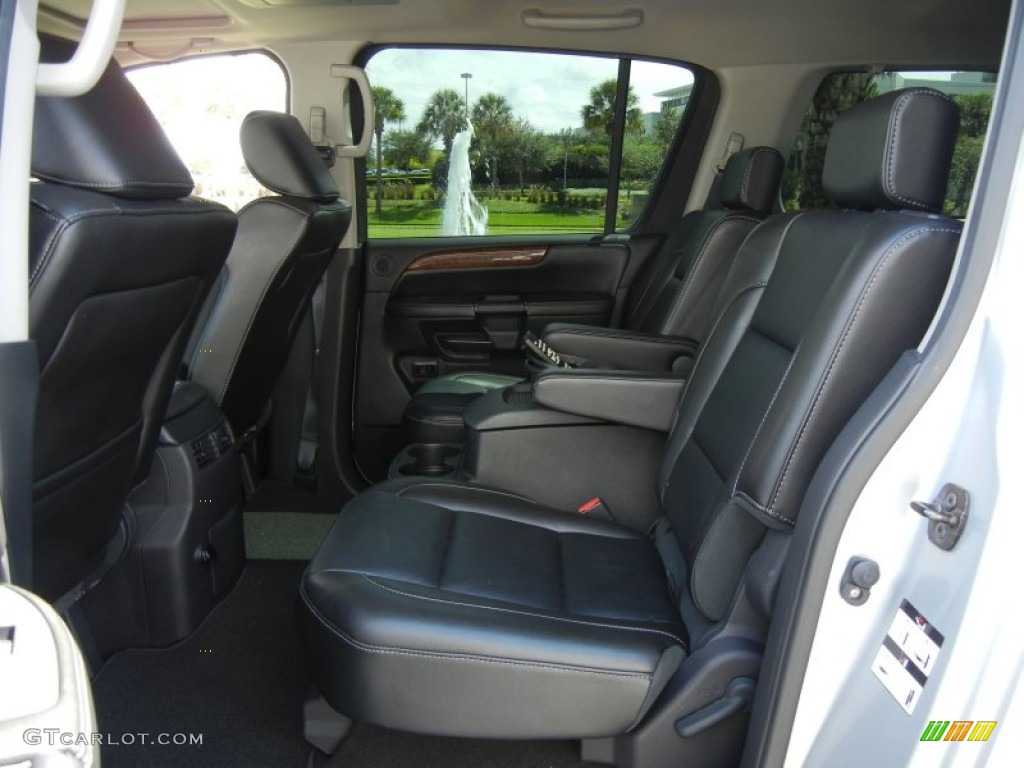 Charcoal Interior 2010 Nissan Armada Platinum Photo