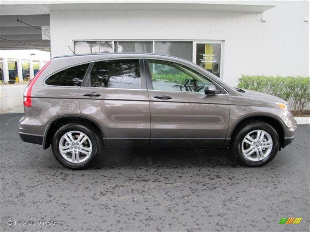 2011 CR-V EX - Urban Titanium Metallic / Ivory photo #2