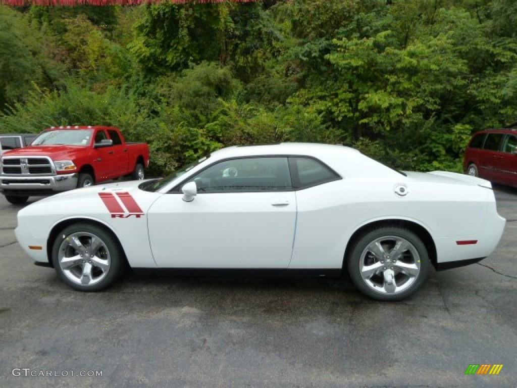 bright white 2012 dodge challenger r t exterior photo. Black Bedroom Furniture Sets. Home Design Ideas