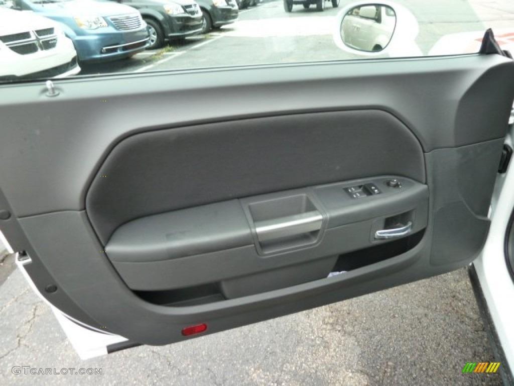 2012 Dodge Challenger R/T Dark Slate Gray Door Panel Photo #54600923 & 2012 Dodge Challenger R/T Dark Slate Gray Door Panel Photo ... pezcame.com