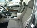 2012 Accord EX V6 Sedan Gray Interior