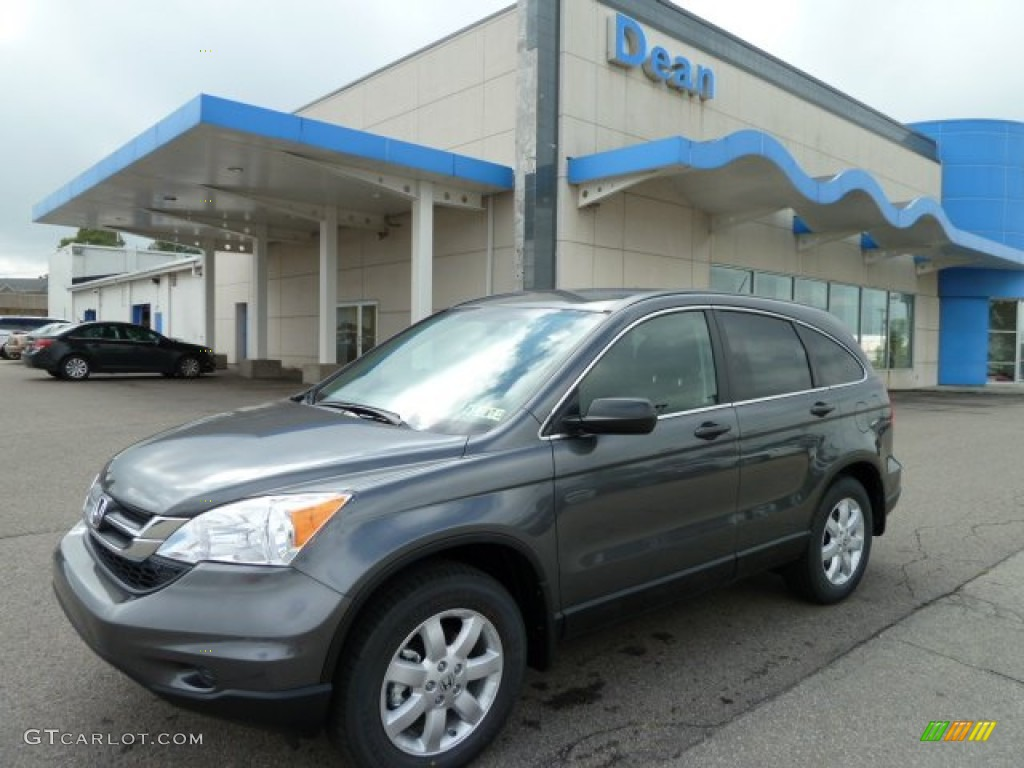 2011 CR-V SE 4WD - Polished Metal Metallic / Black photo #1