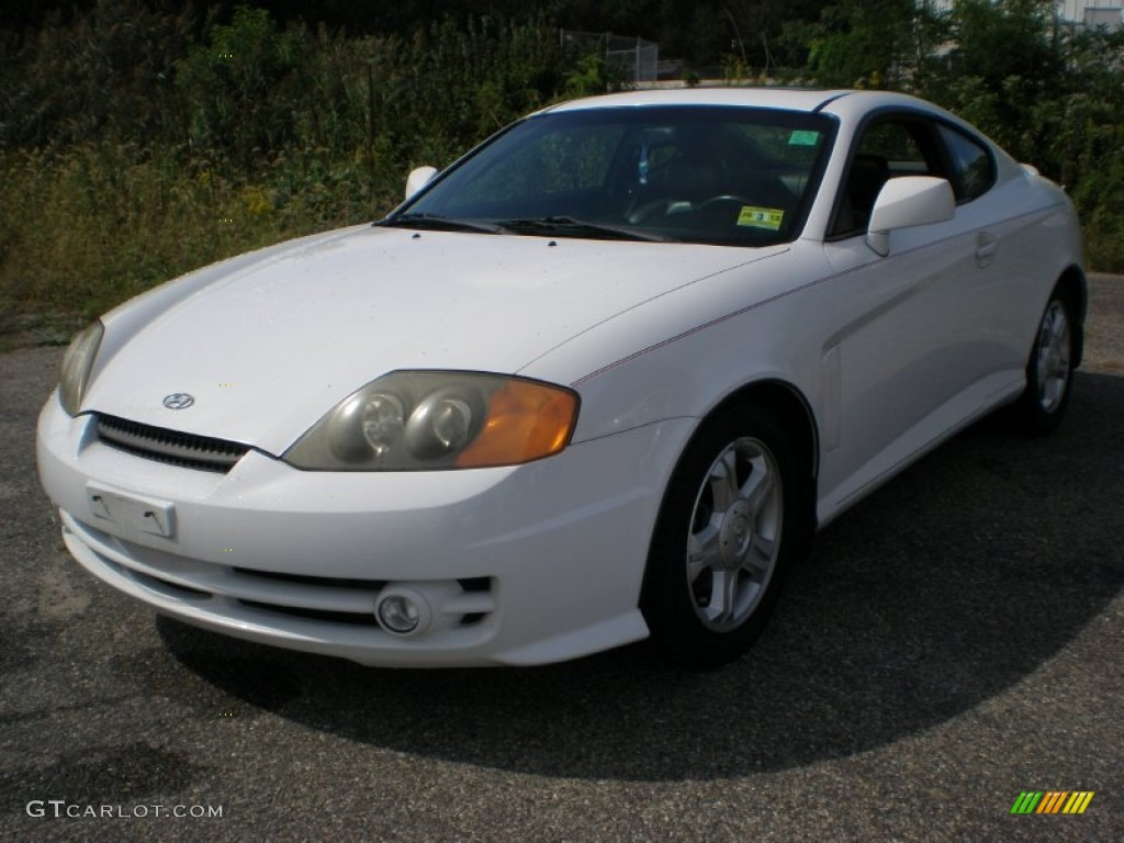 2003 alpine white hyundai tiburon gt v6 54577332. Black Bedroom Furniture Sets. Home Design Ideas