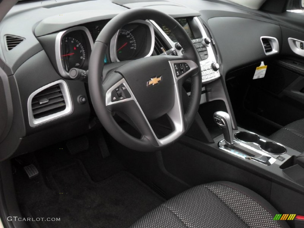 Jet Black Interior 2012 Chevrolet Equinox LT Photo #54612492 ...