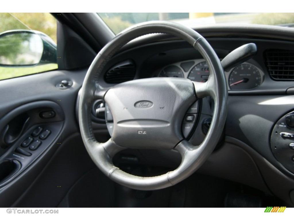 1999 Ford Taurus SE Wagon Medium Graphite Steering Wheel ...