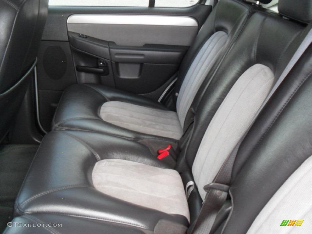 Midnight Grey Interior 2005 Mercury Mountaineer V8 Awd