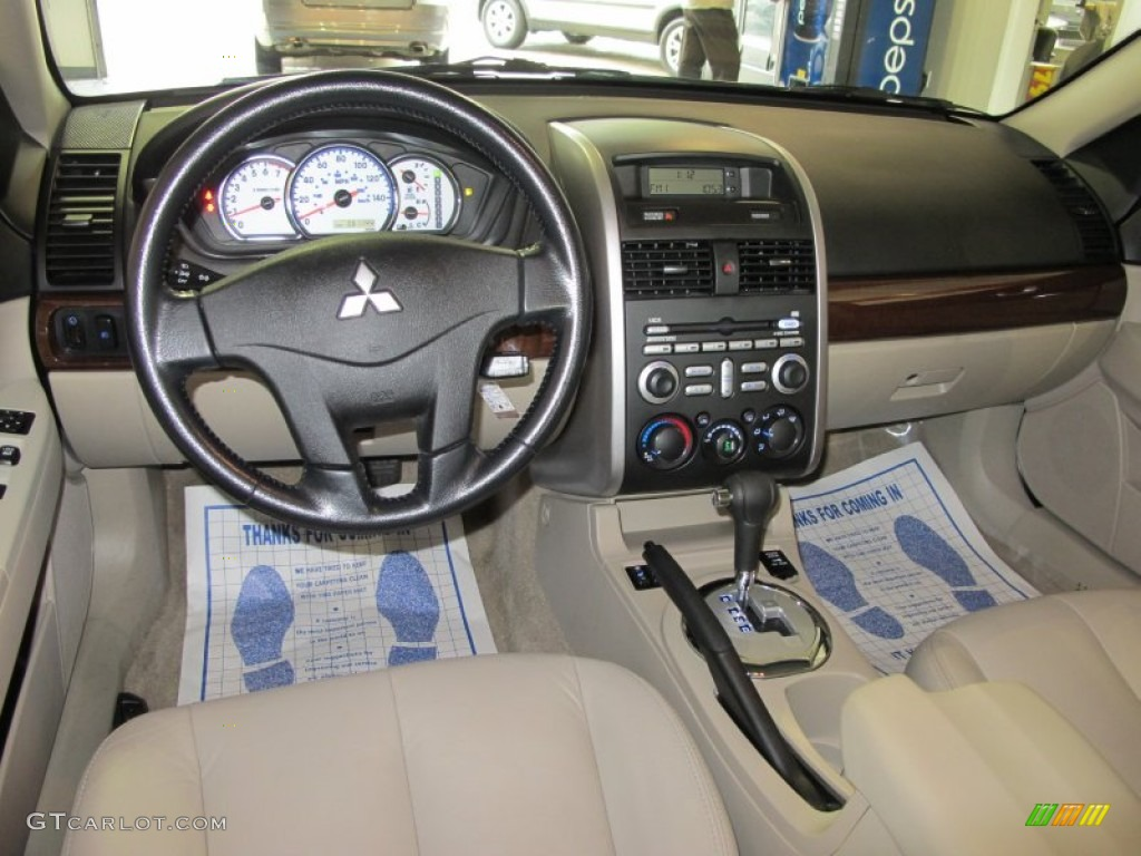 Beige Interior 2007 Mitsubishi Galant GTS V6 Photo #54617373 | GTCarLot.com