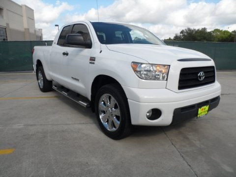 2008 Toyota Tundra Texas Edition Double Cab Data, Info and Specs