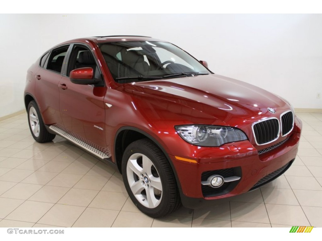 Vermillion Red Metallic 2011 Bmw X6 Xdrive35i Exterior Photo 54623583 Gtcarlot Com