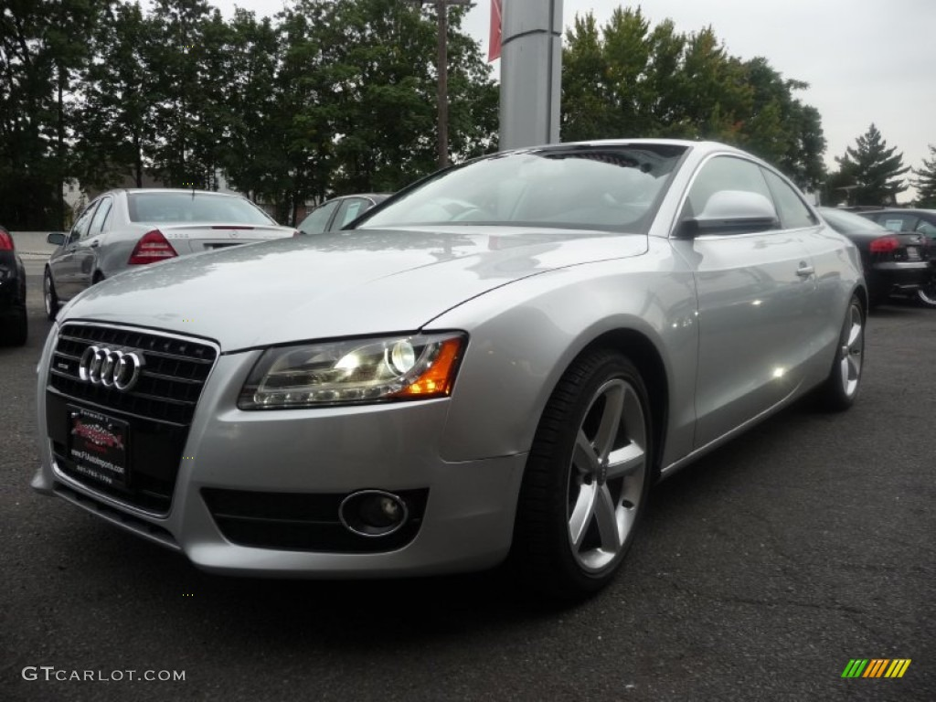 2008 avus silver pearl effect audi a5 3 2 quattro coupe. Black Bedroom Furniture Sets. Home Design Ideas