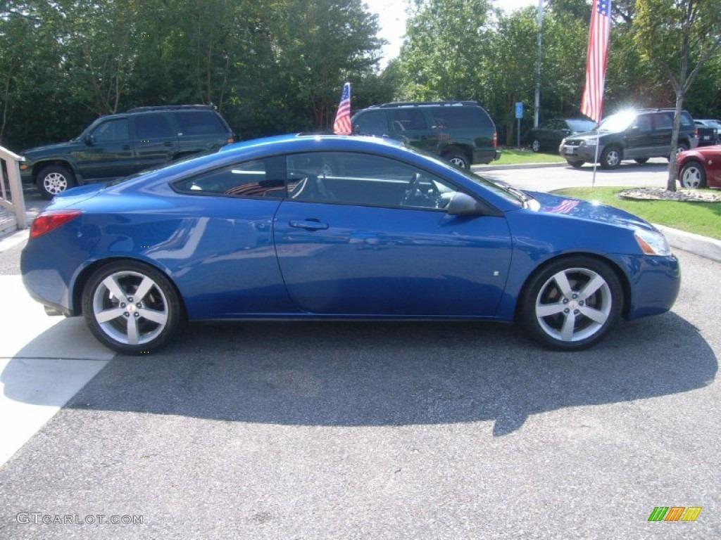 Electric Blue Metallic 2007 Pontiac G6 Gt Coupe Exterior