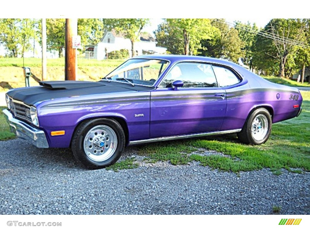 1973 plum crazy plymouth duster 340 54630593 photo 82 car color galleries. Black Bedroom Furniture Sets. Home Design Ideas