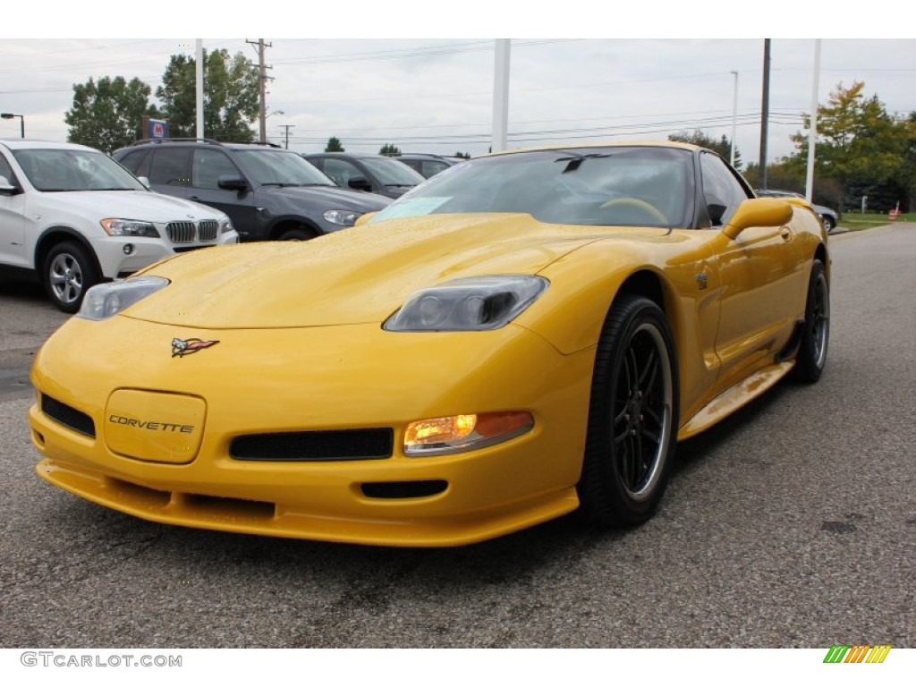 2002 millenium yellow chevrolet corvette z06 54630566 photo 8 car color galleries. Black Bedroom Furniture Sets. Home Design Ideas