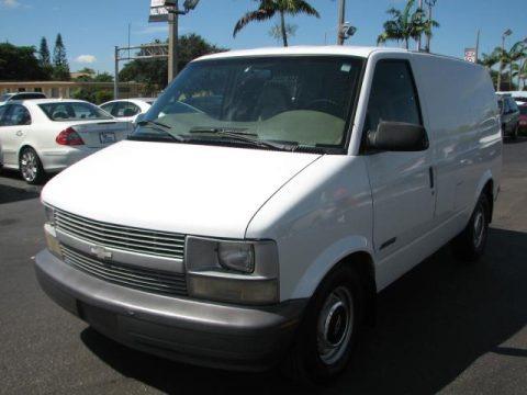 1998 Chevrolet Astro Cargo Van Data, Info and Specs