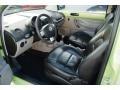 Black 2002 Volkswagen New Beetle Interiors