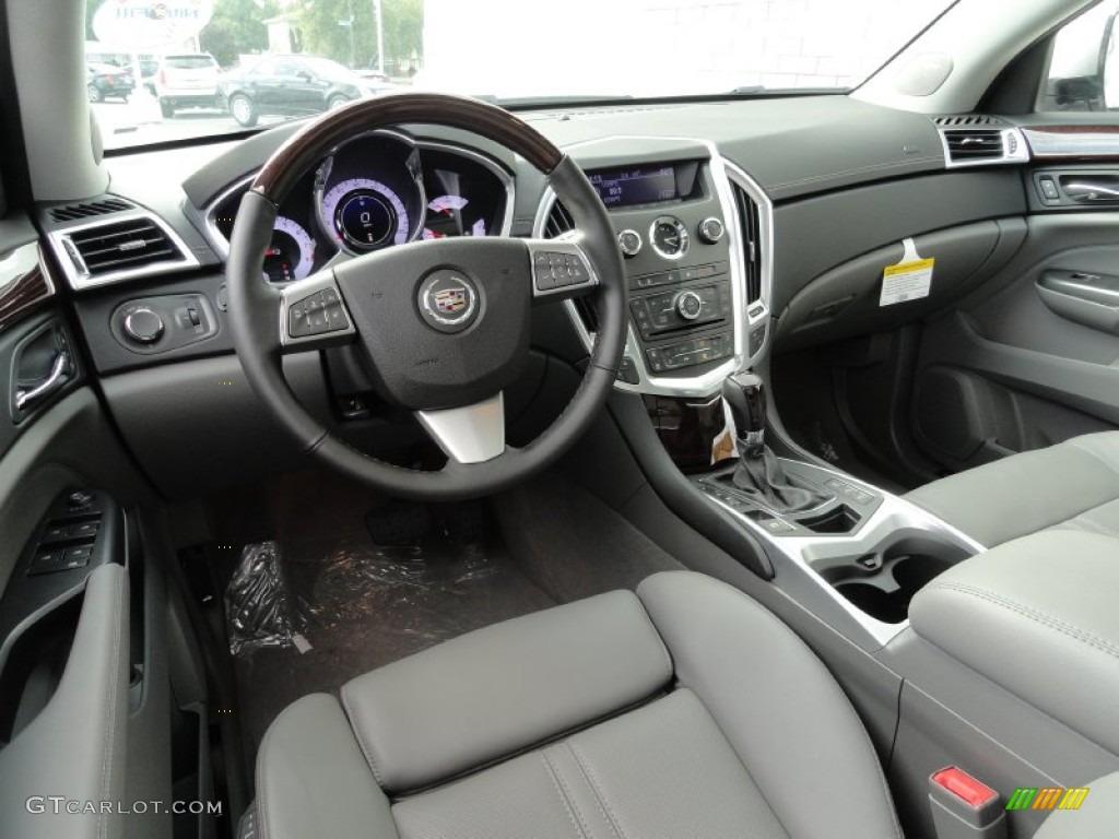 Titanium Ebony Interior 2012 Cadillac Srx Luxury Photo
