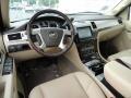 2011 Cadillac Escalade Cashmere/Cocoa Interior Dashboard Photo