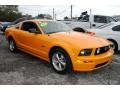 2007 Grabber Orange Ford Mustang GT Deluxe Coupe  photo #3