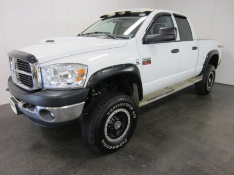 2008 Dodge Ram 3500 TRX4 Quad Cab 4x4 Data, Info and Specs