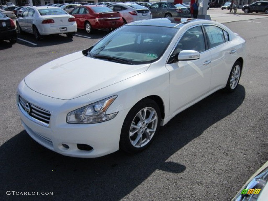 winter frost white 2012 nissan maxima 3 5 sv premium exterior photo 54662291. Black Bedroom Furniture Sets. Home Design Ideas