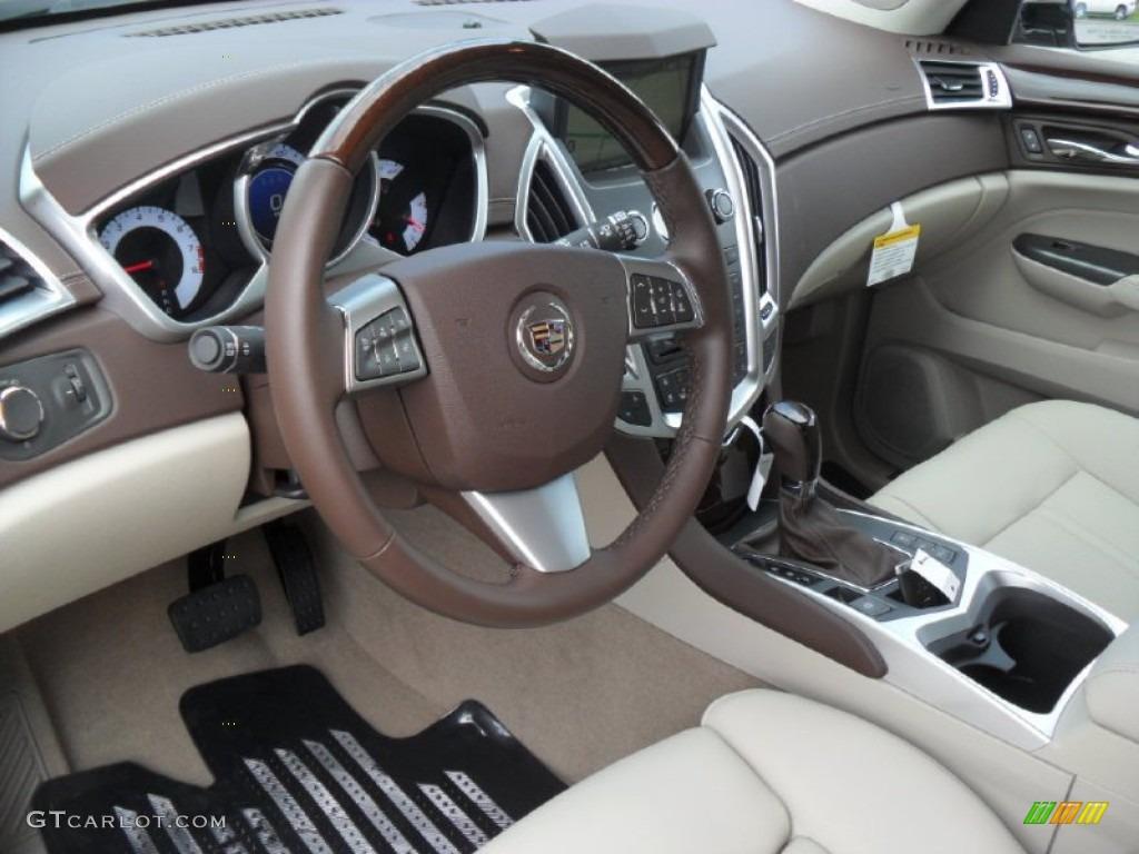 Shale Brownstone Interior 2012 Cadillac Srx Luxury Photo 54664623