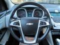 Jet Black/Light Titanium Steering Wheel Photo for 2010 Chevrolet Equinox #54675453