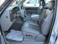 Stone Gray leather 2006 GMC Sierra 1500 Interiors